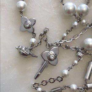 NWT Henri Bendel Secret Garden Charm Necklace